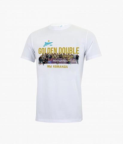 """T-shirt """"Golden Double"""""""