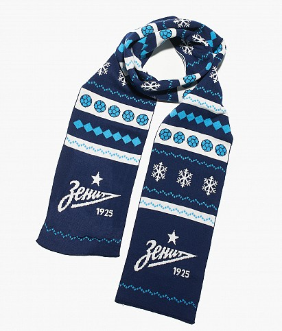 "Zenit scarf  ""New Year"""