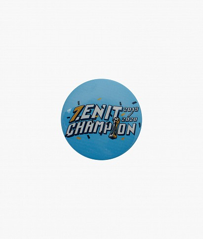 Значок закатной «Zenit. Чемпион России»
