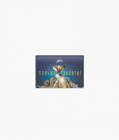 Магнит закатной «Больше золота» Суперкубок 17.07.2021