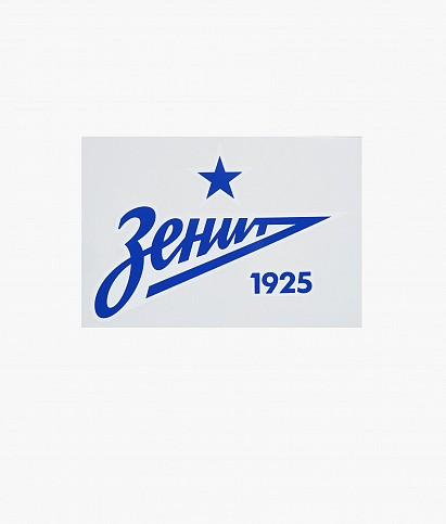 "Car sticker ""Blue Arrow 2013"" 190 x 93 mm"