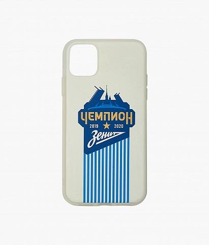 """Чехол iPhone 11 """"Город, Чемпион России"""""""