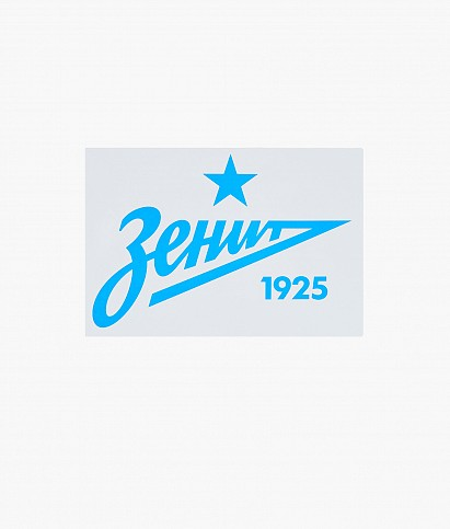 "Car sticker ""Sky Blue Arrow 2013"" 140 x 70 mm"