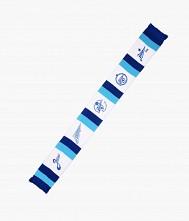 Шарф трикотажный «Пять логотипов»