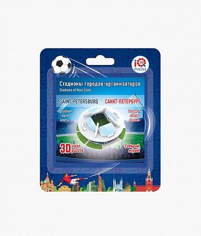 Пазл 3D Стадион «Санкт-Петербург» малый