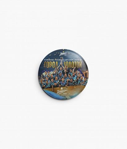 """Badge """"2020/21"""""""