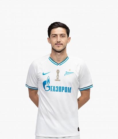 Оригинальная выездная футболка Nike сезона 2019/20