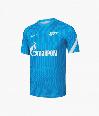 Футболка предыгровая Nike Zenit сезон 2021/22