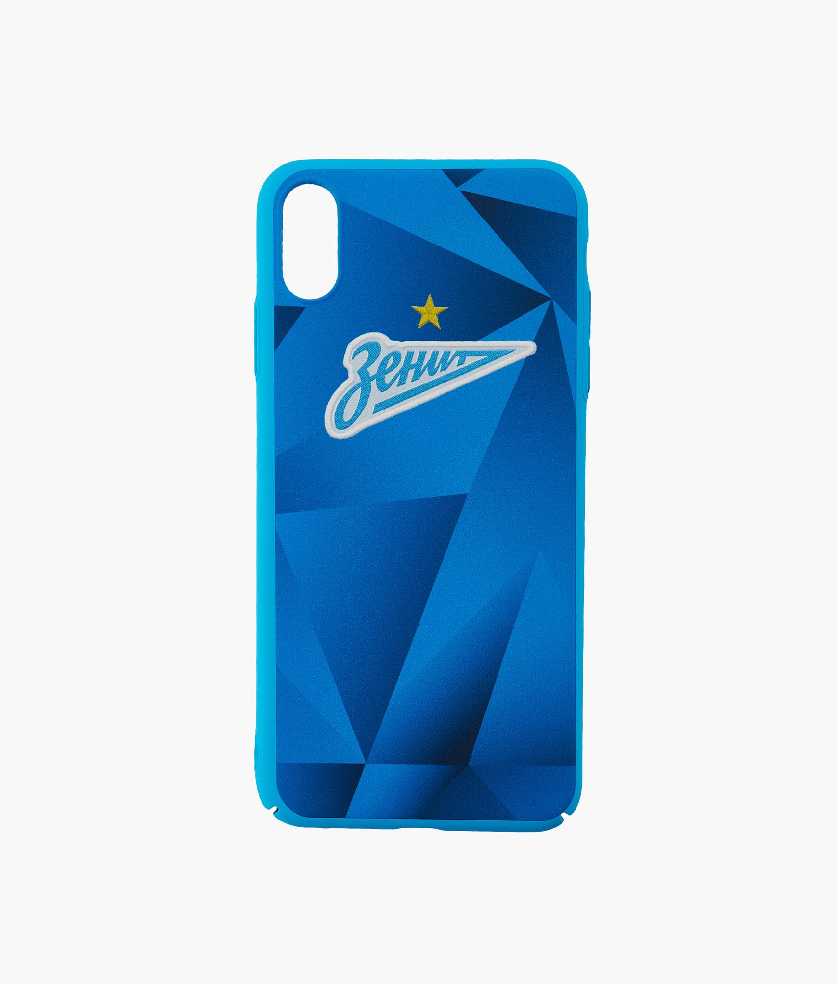 Фото - Чехол для IPhone XS Max Форма 2019/20 Зенит Цвет-Синий платье coccodrillo одежда повседневная на каждый день