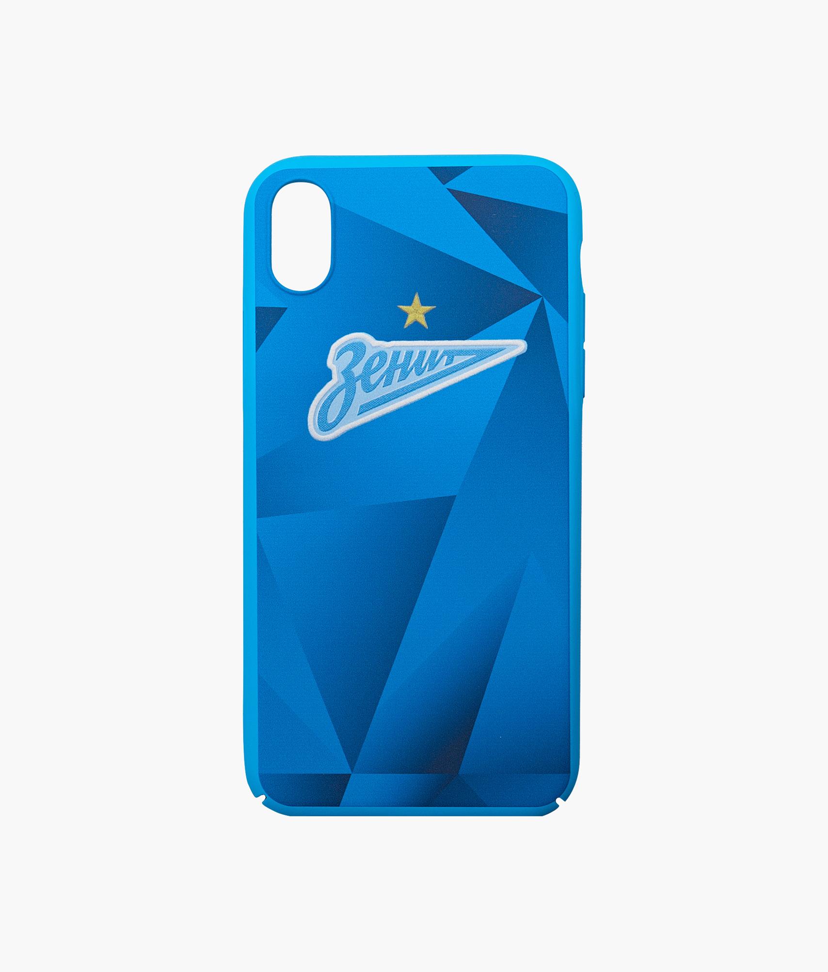 Фото - Чехол для IPhone XR Форма 2019/20 Зенит Цвет-Синий платье coccodrillo одежда повседневная на каждый день