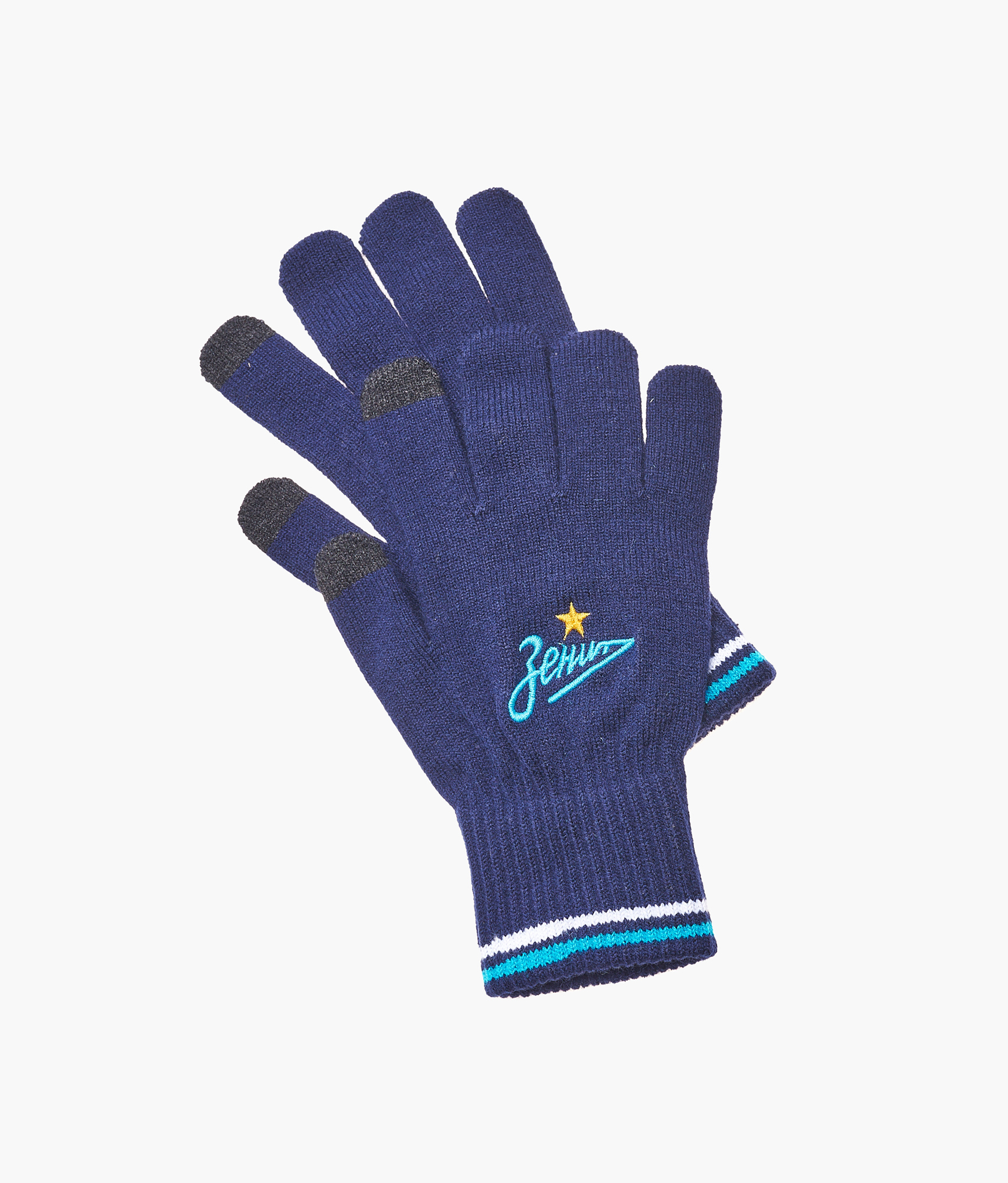 Фото - Перчатки взрослые сенсорные Зенит Зенит Цвет-Темно-синий защитные антистатические перчатки из углеродного волокна ermar erma