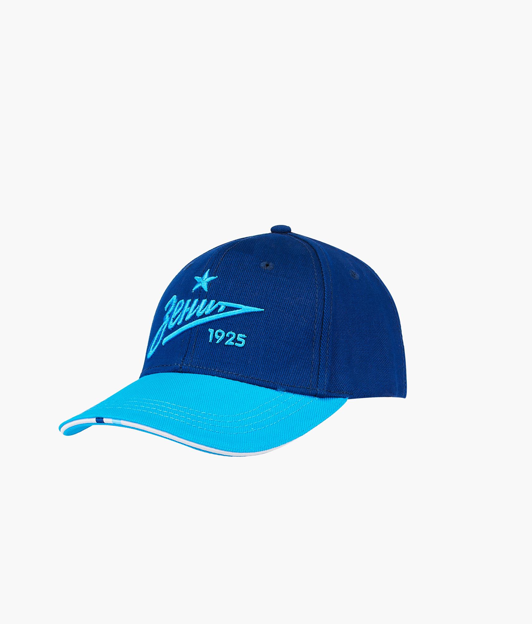 Бейсболка мужская Зенит Цвет-Синий-Лазурный бейсболка мужская quiksilver starkness цвет темно синий aqyha04308 bng0 размер универсальный
