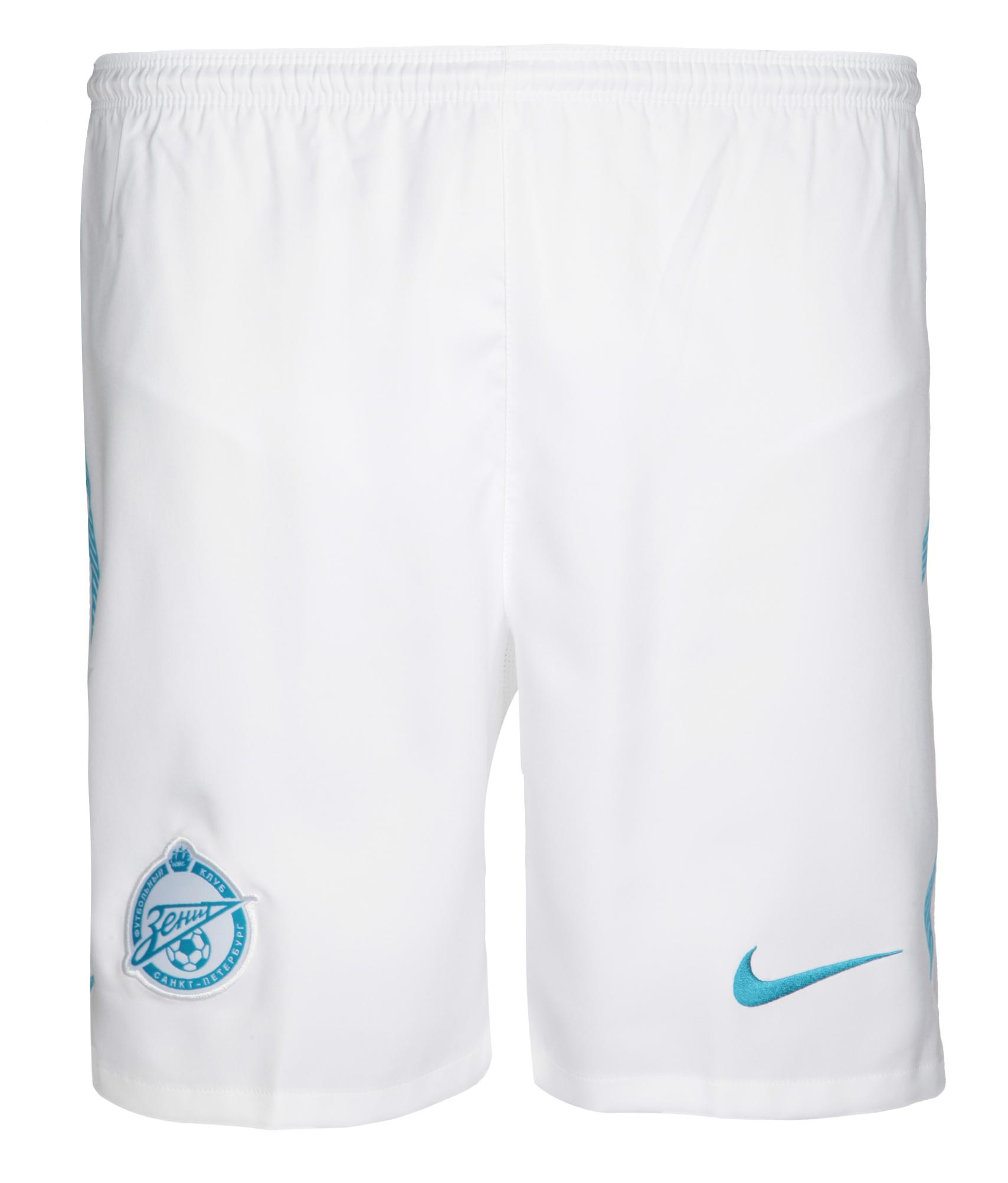 Шорты Nike выездные оригинальные 2011 Зенит Цвет-Белый