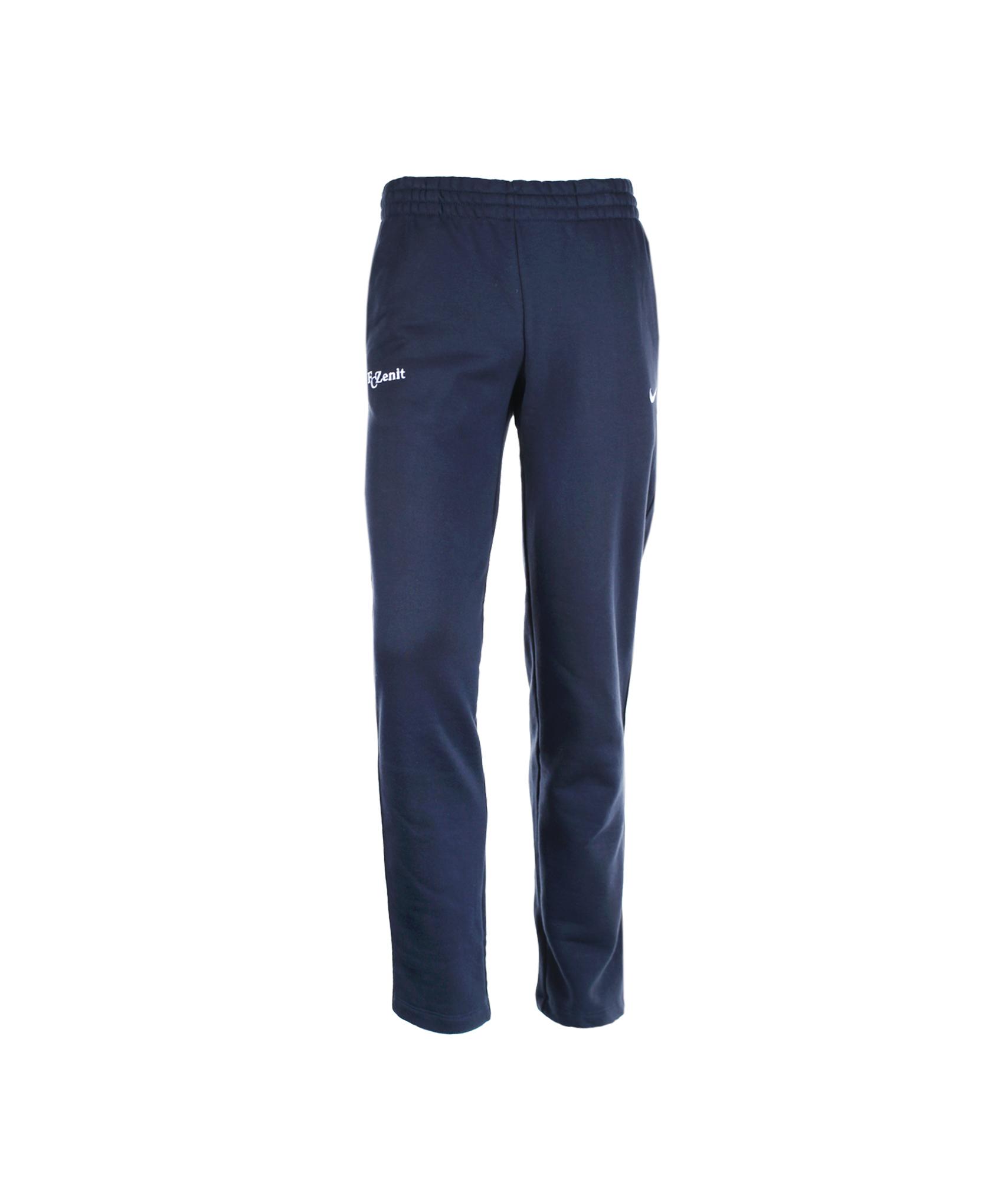 Брюки Nike Squad Fleece Open Hem Pant, Цвет-Темно-Синий, Размер-L