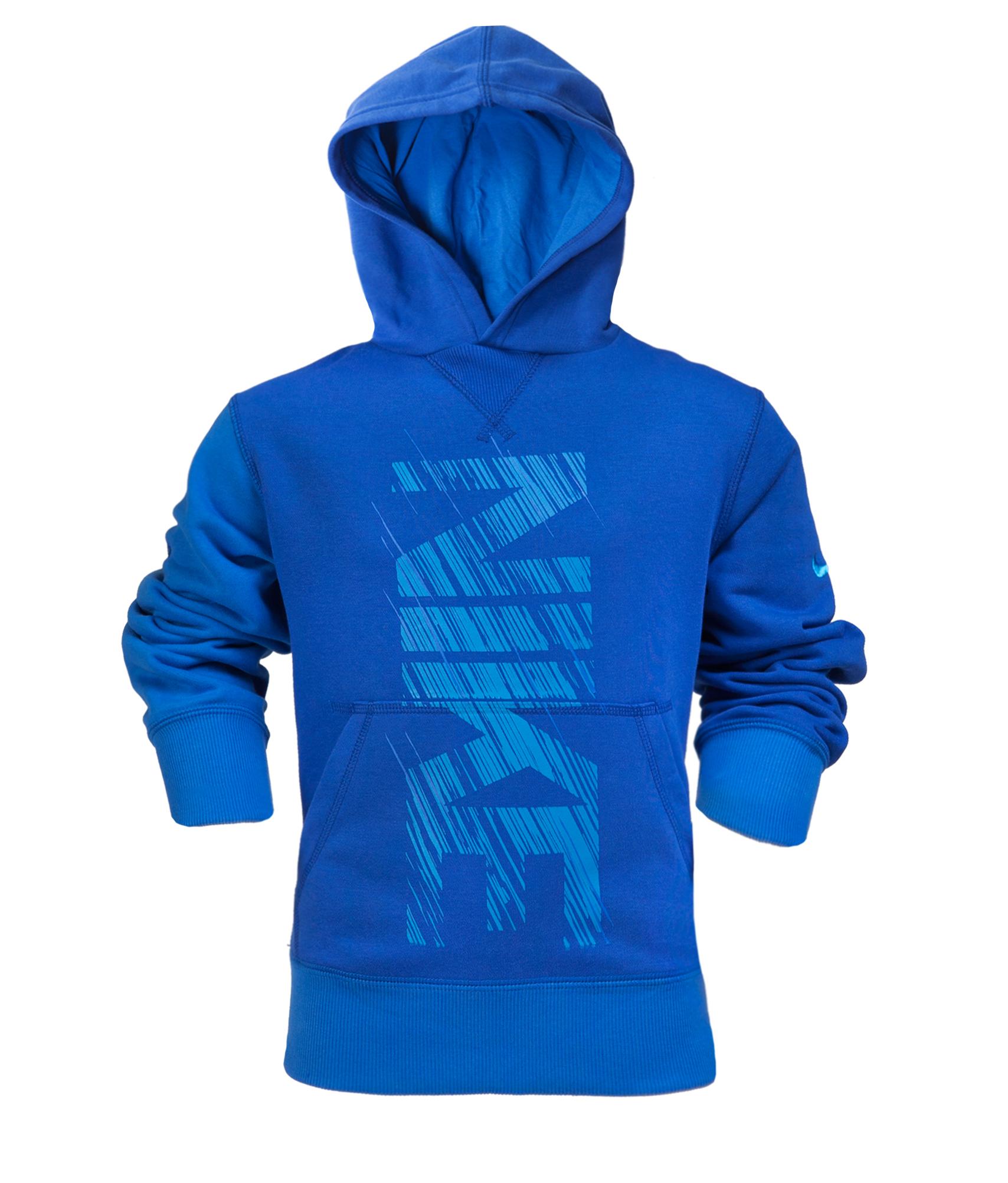 Толстовка детская Nike, сине-голубой, Цвет-Сине-Голубой, Размер-S