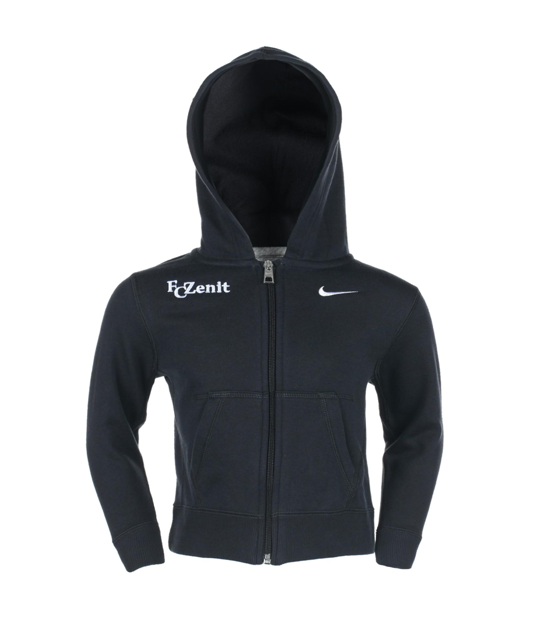 Толстовка Nike YA76 BF FZ HOODY, Цвет-Черный, Размер-S