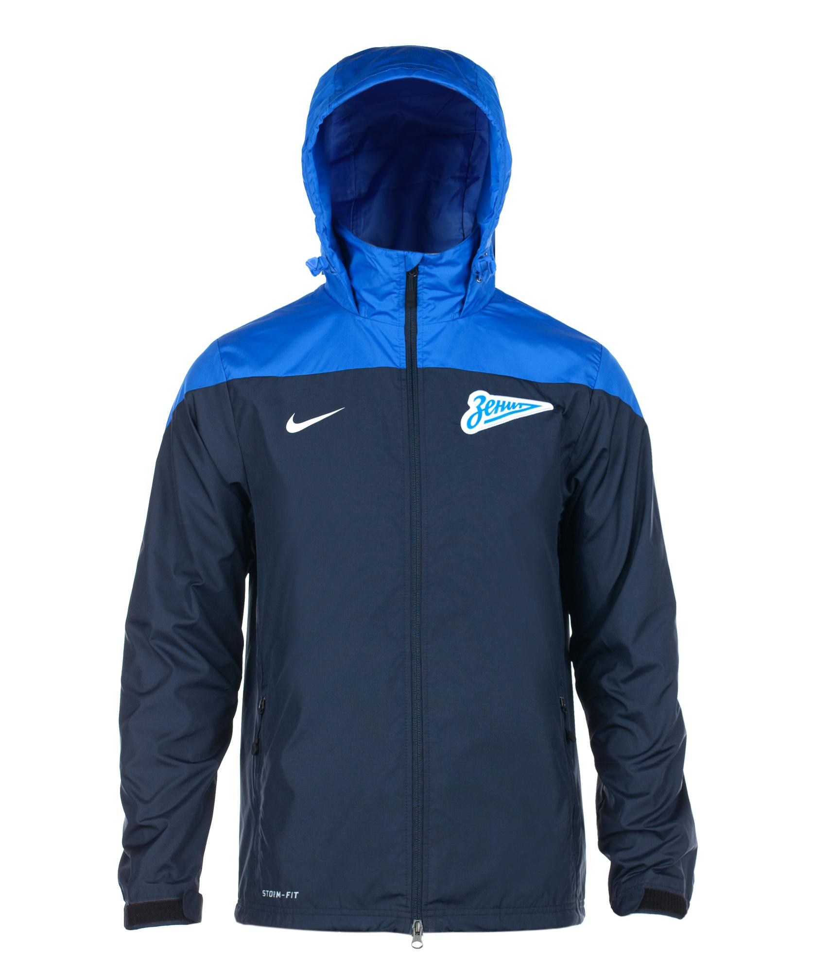 Ветровка Nike SQUAD SF1 RAIN JKT, Цвет-Синий, Размер-M