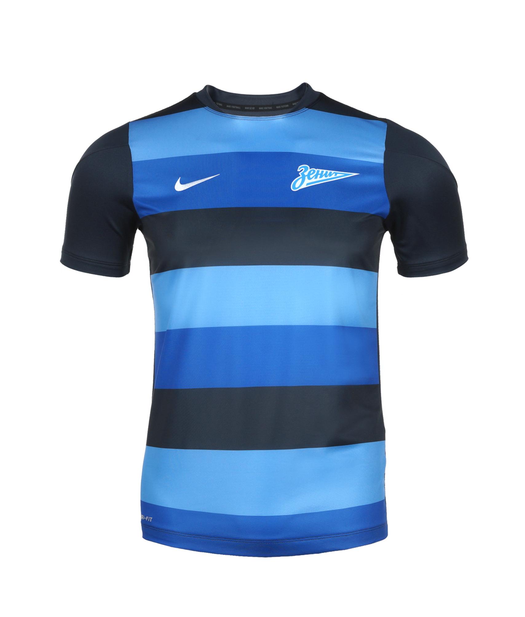 Предыгровая подростковая футболка, Цвет-Синий, Размер-L