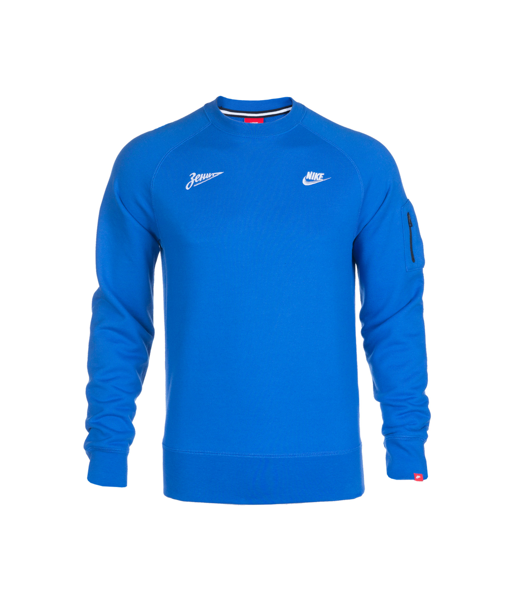 Джемпер Nike AW77 CREW, Цвет-Синий, Размер-XL