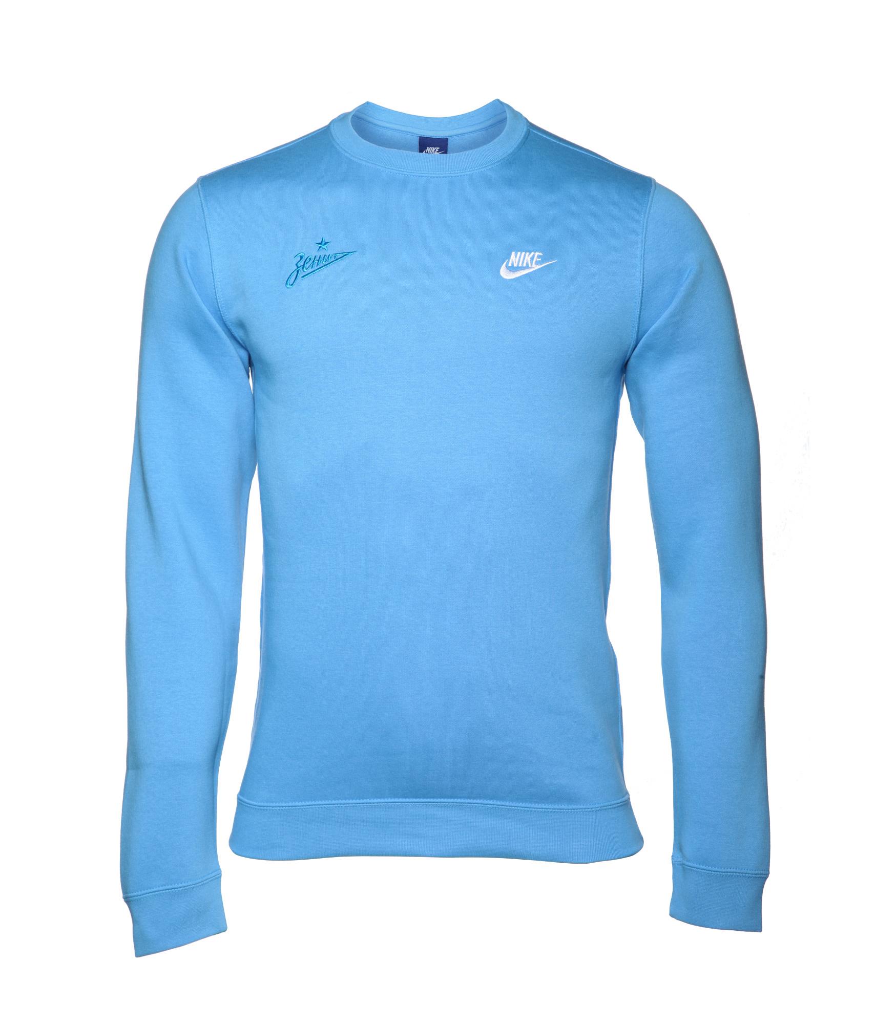 Джемпер Nike Nike Цвет-Голубой джемперы nike джемпер nike element sphere 1 2 zip