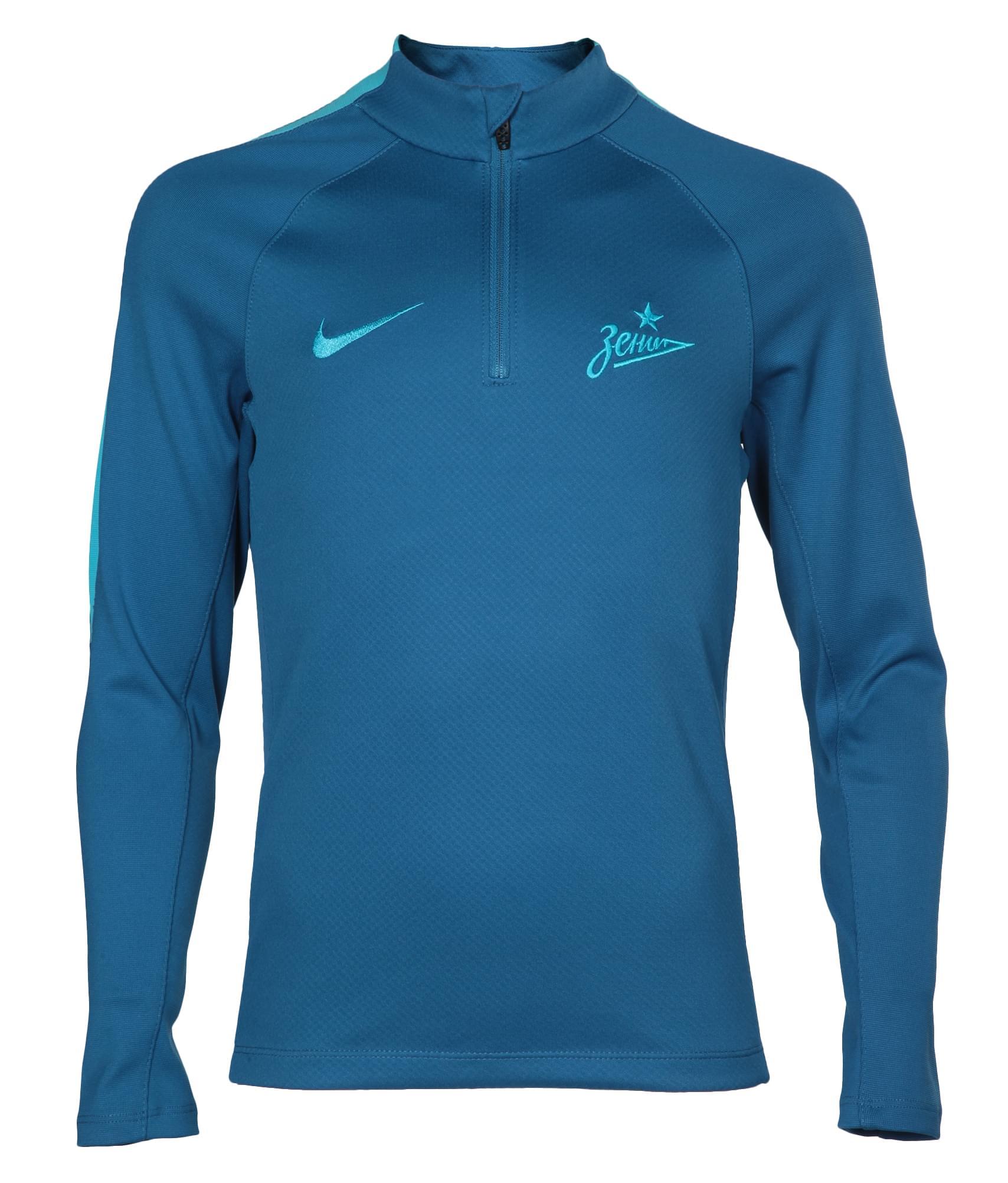 Джемпер тренировочный подростковый Nike Nike Цвет-Синий джемпер тренировочный подростковый nike цвет темно синий размер m
