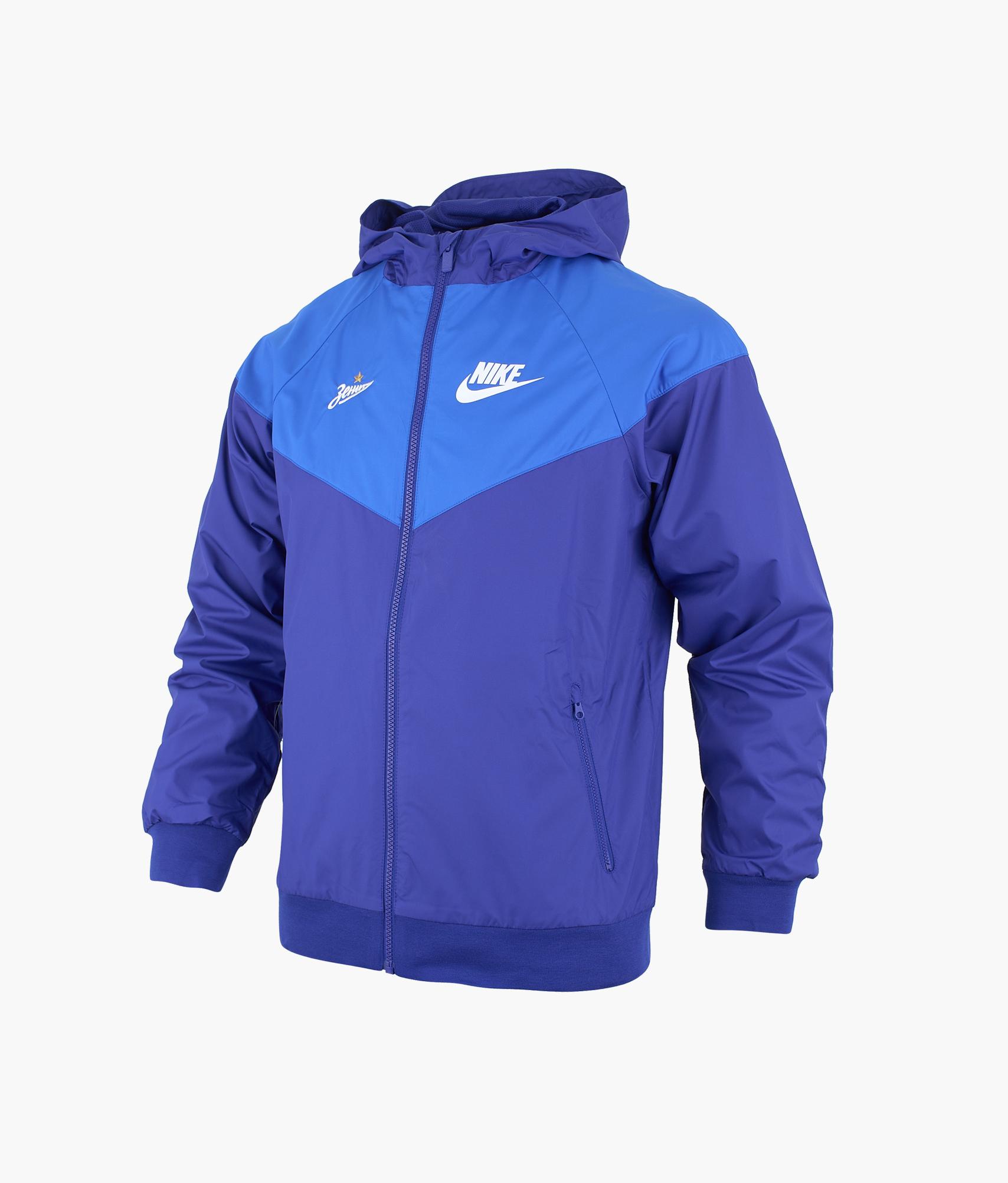 Ветровка подростковая Nike Nike Цвет-Синий ветровка nike nike ni464ewdnmc6