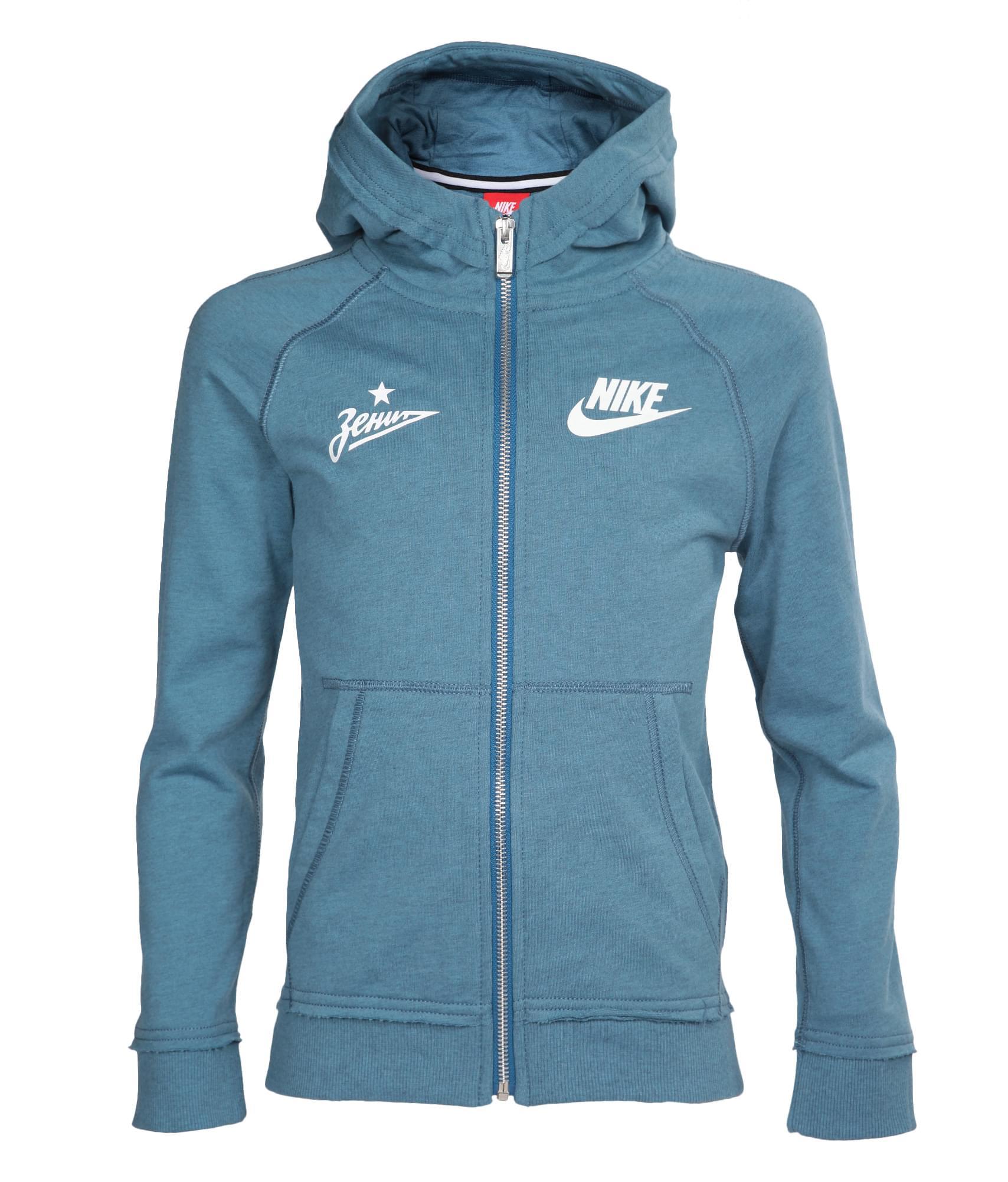 Толстовка детская Nike  Цвет-Синий