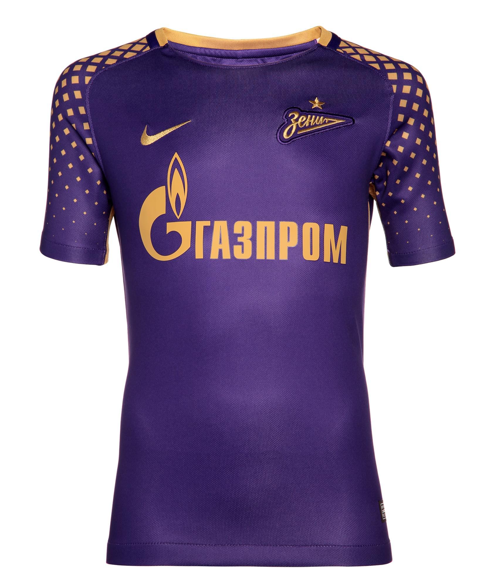 Подростковая резервная игровая футболка сезона 2017/2018 Nike Цвет-Фиолетовый slim fit basic blazer