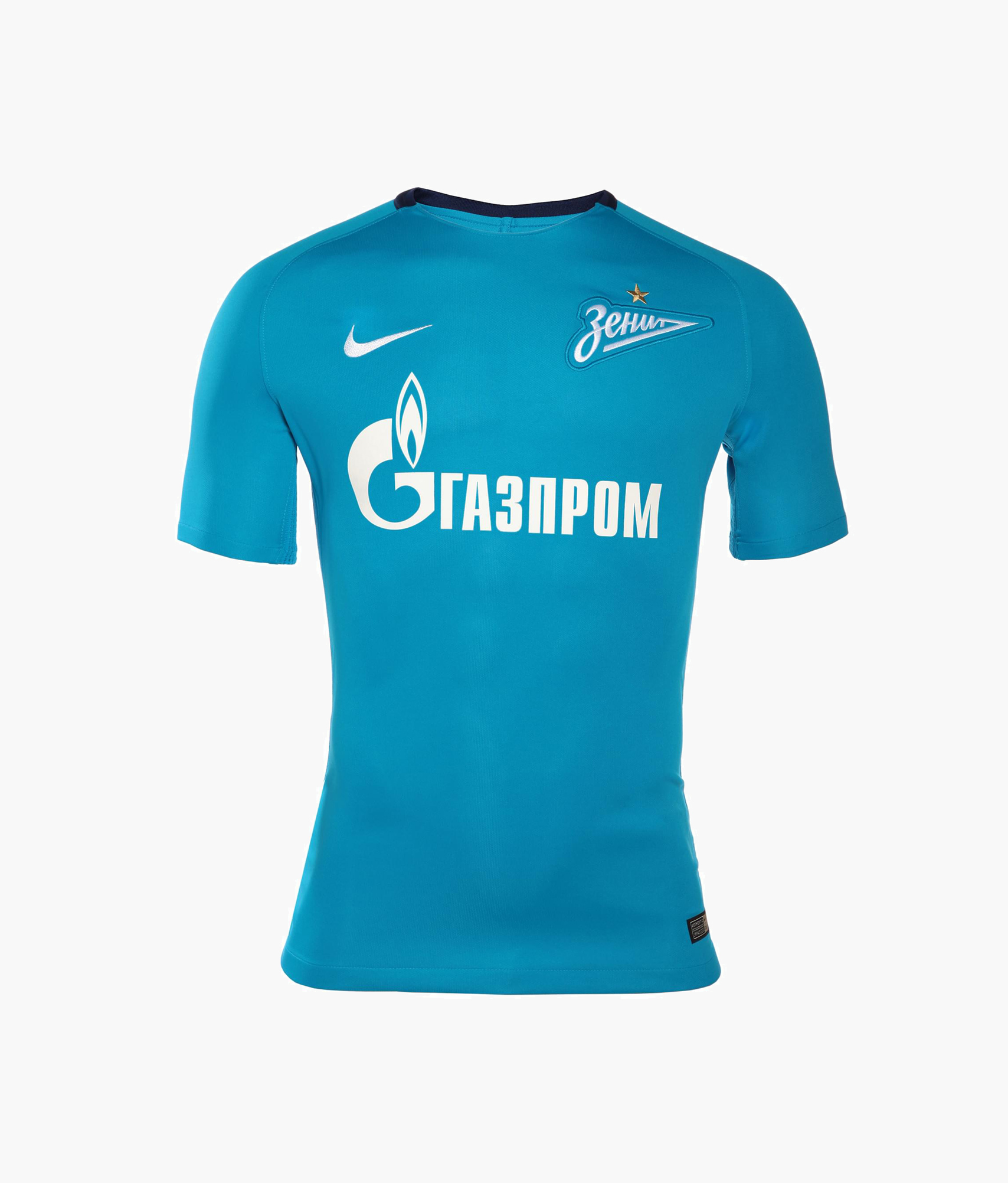 цена Оригинальная домашняя футболка Nike сезона 2017/2018 Nike Цвет-Синий онлайн в 2017 году