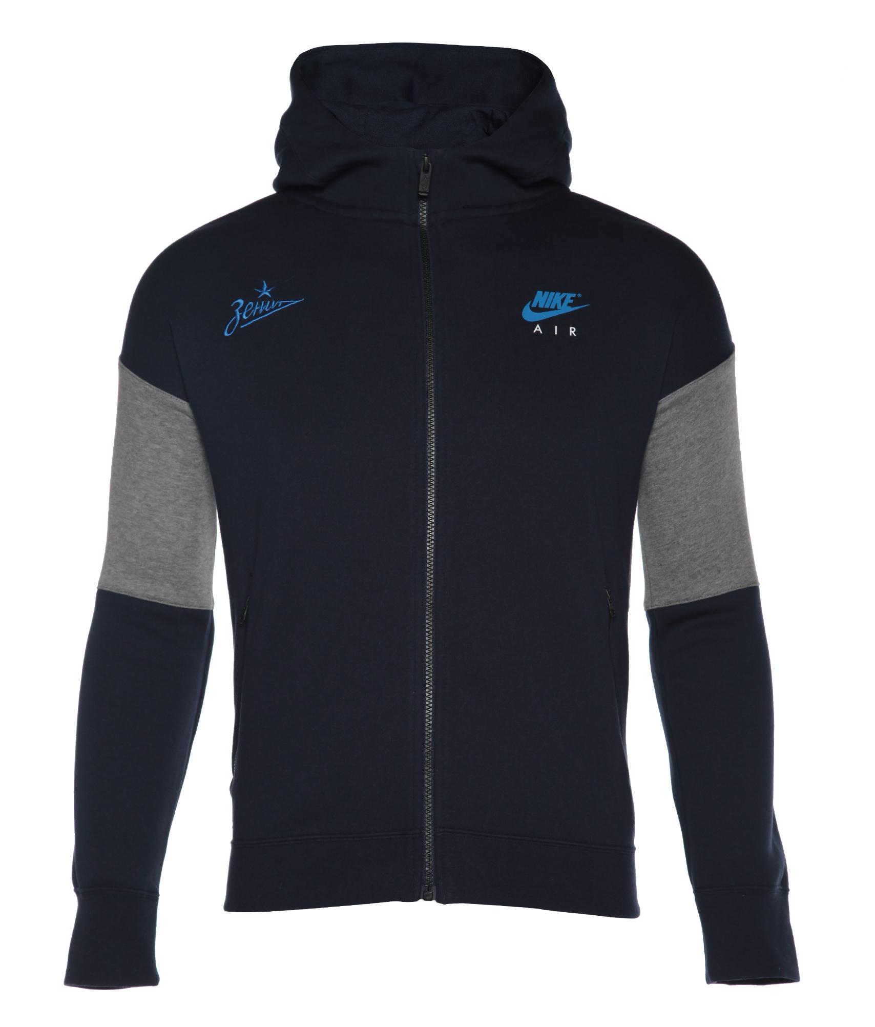 Толстовка подростковая с капюшоном Nike Цвет-Темно-Синий