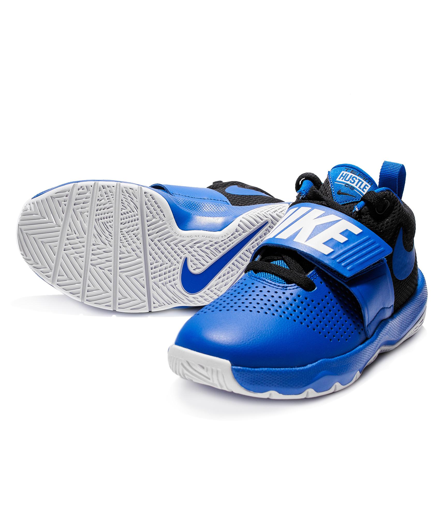 Кроссовки подростковые Nike Nike Цвет-Синий бутсы nike шиповки nike jr hypervenomx phelon iii tf 852598 616
