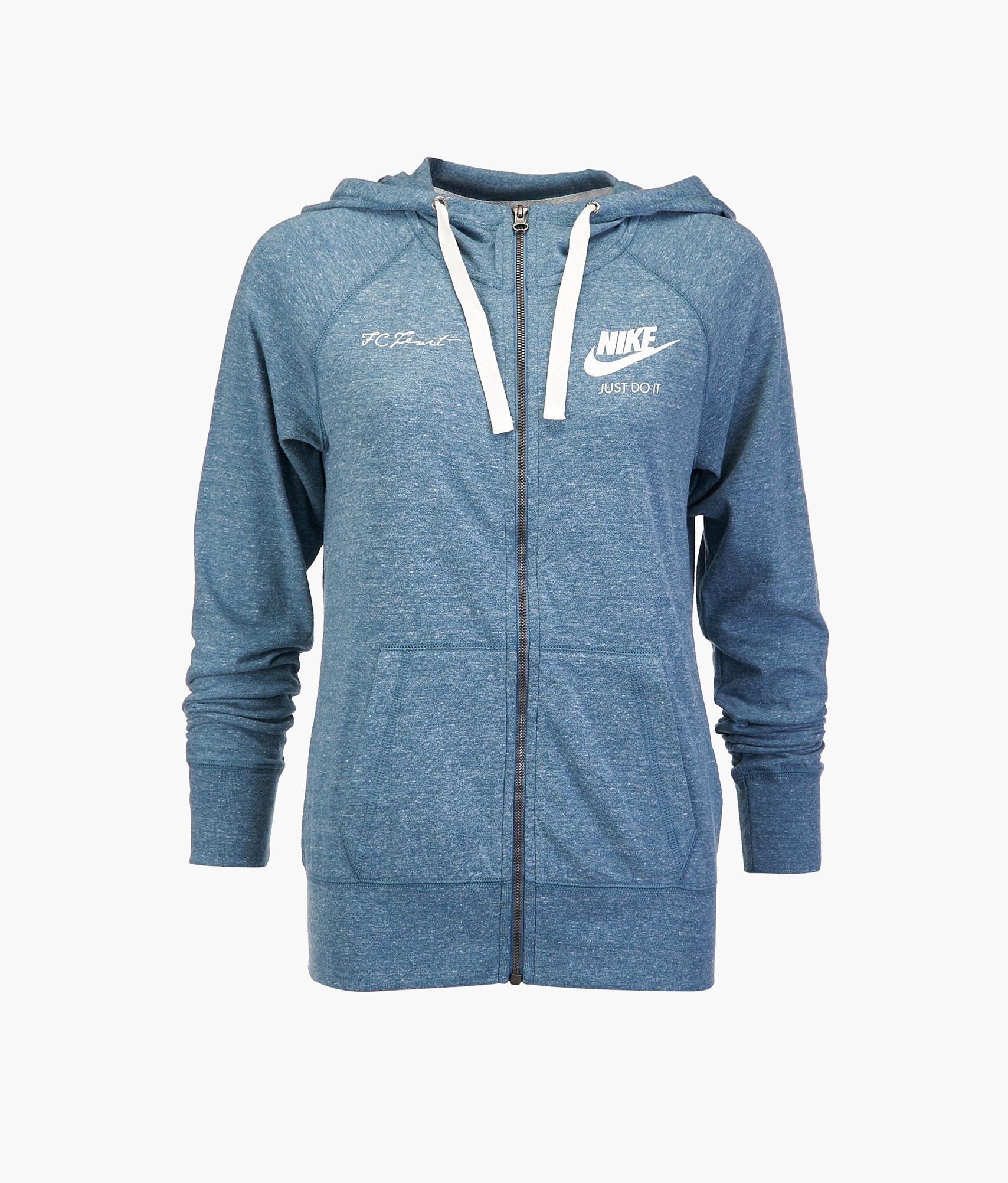 e4dcafc6 Толстовка женская Nike 883729-468 купить за 4 650 руб в интернет магазине  ФК Зенит