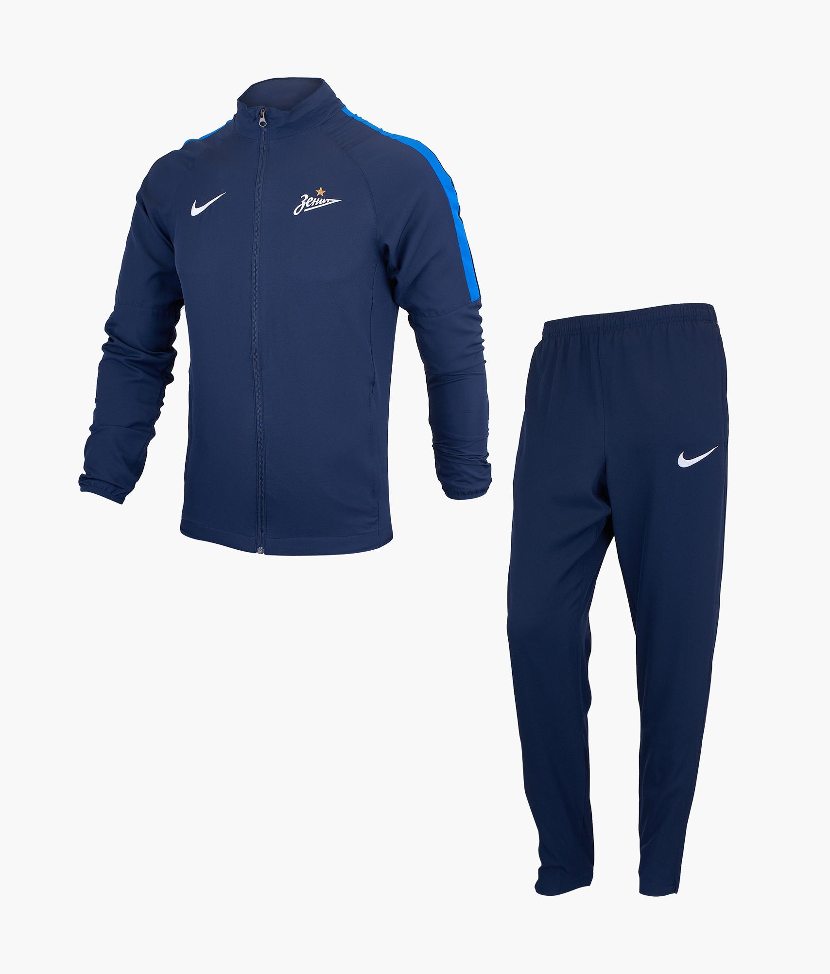 Спортивный костюм мужской Nike Nike Цвет-Темно-Синий топ спортивный nike nike ni464ewhtts4