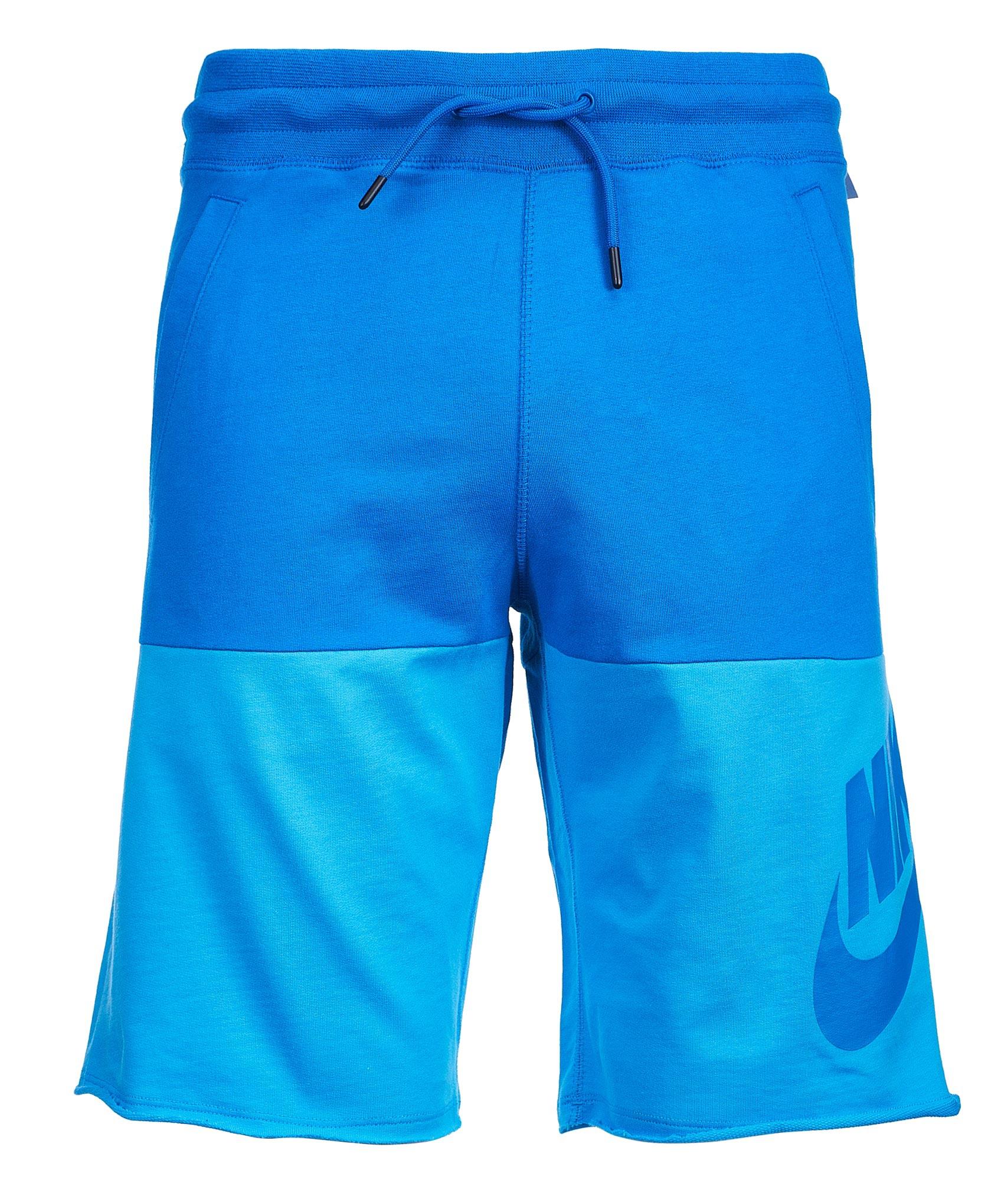 Шорты Nike Nike Цвет-Синий