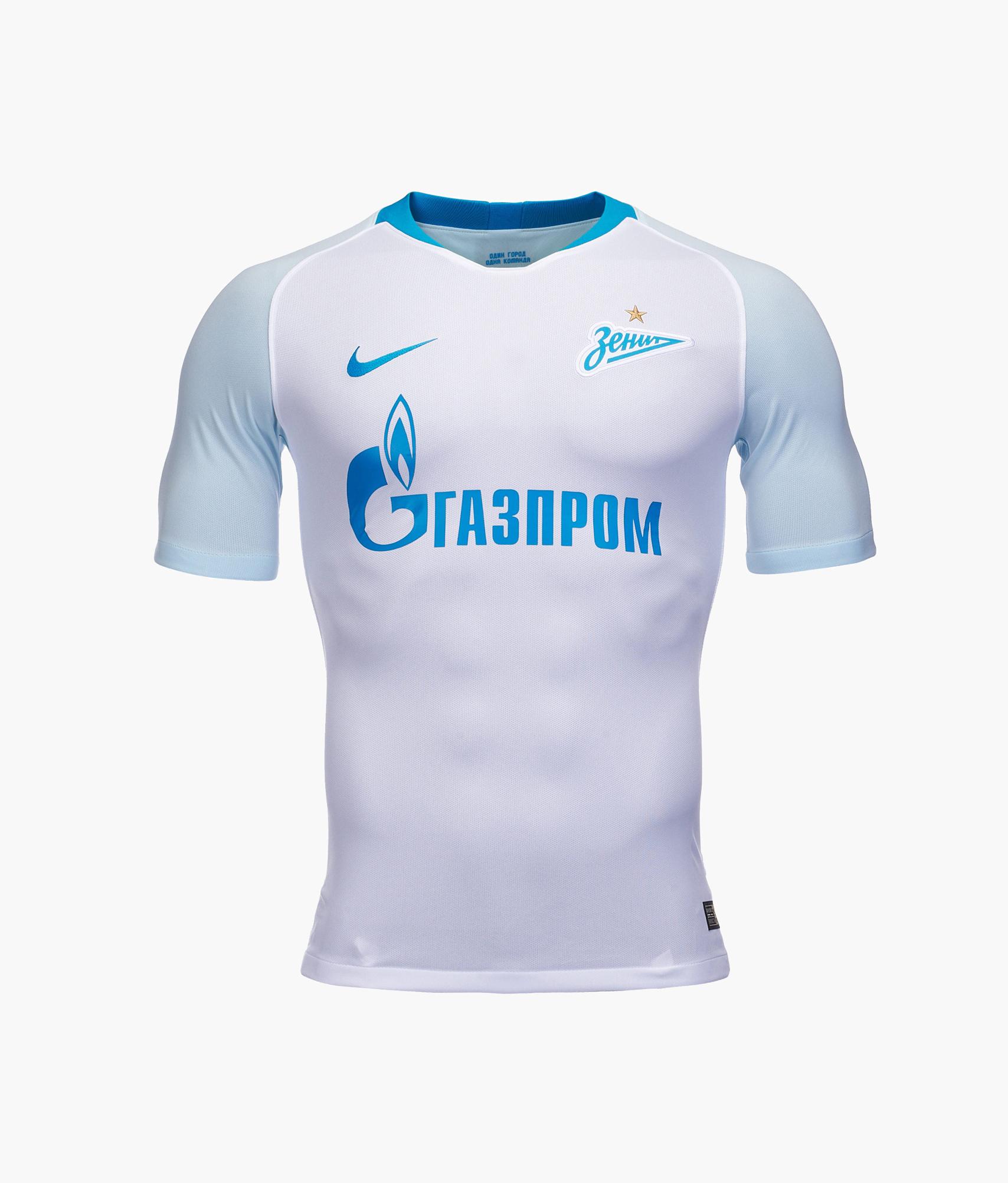 Оригинальная выездная футболка Nike сезона 2018/19 Nike Цвет-Белый реплика выездной игровой футболки nike 2018 19 nike цвет белый