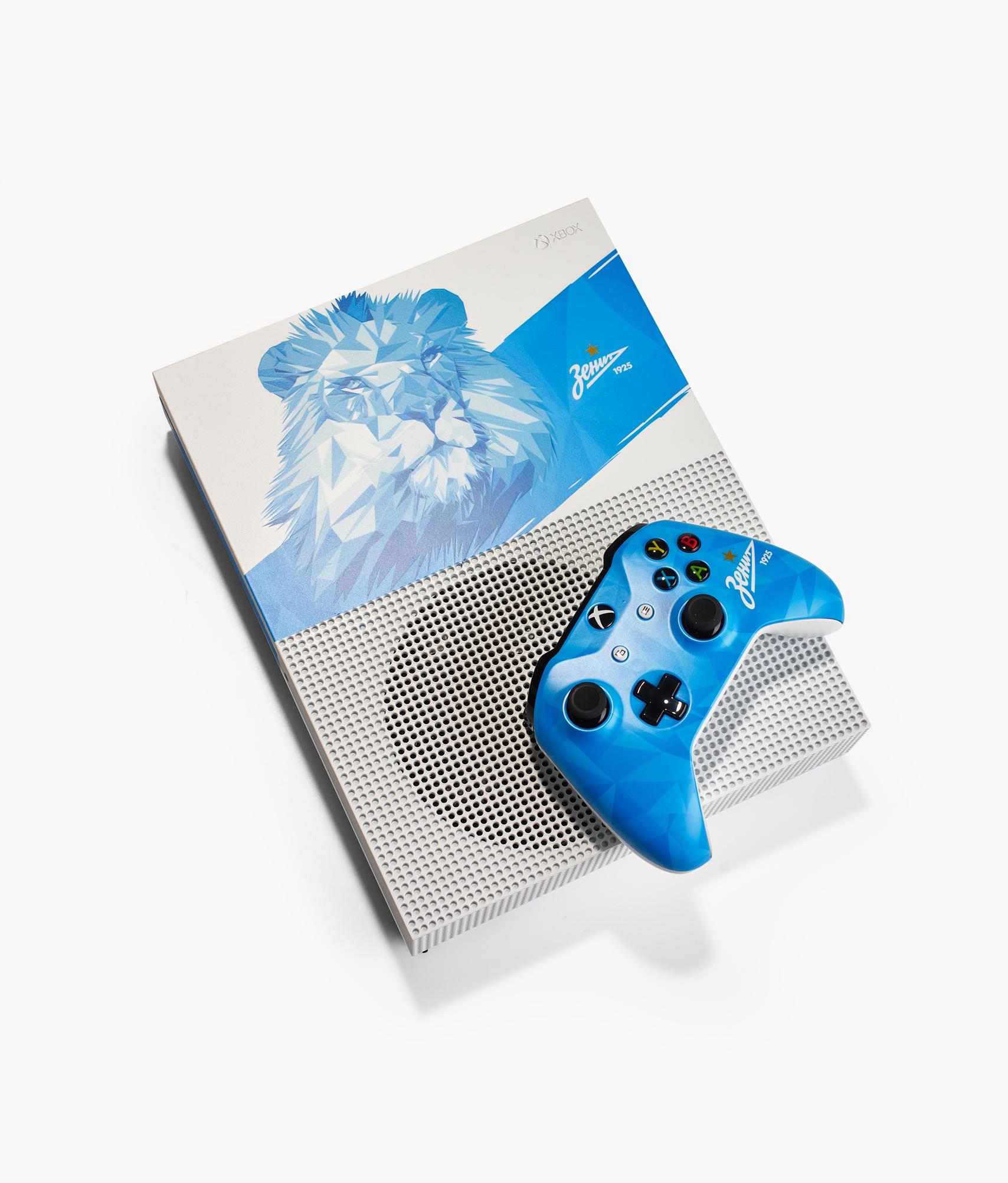 Консоль Microsoft Xbox One S 1 TB Zenit Lion Зенит jim s lion