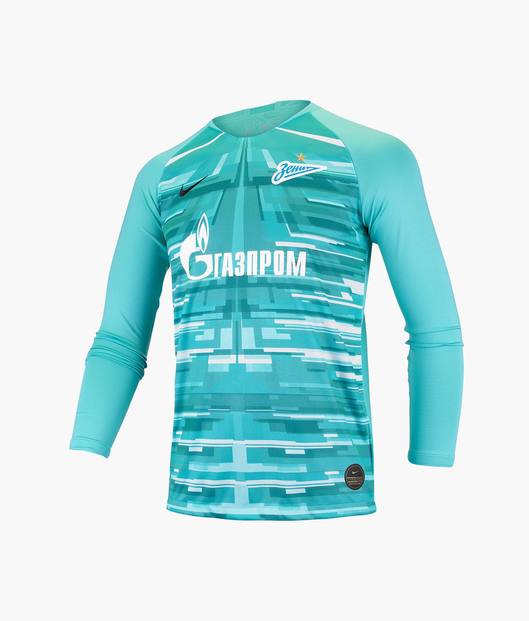 Футболка вратарская подростковая сезона 2019/20 Nike Цвет-Зеленый