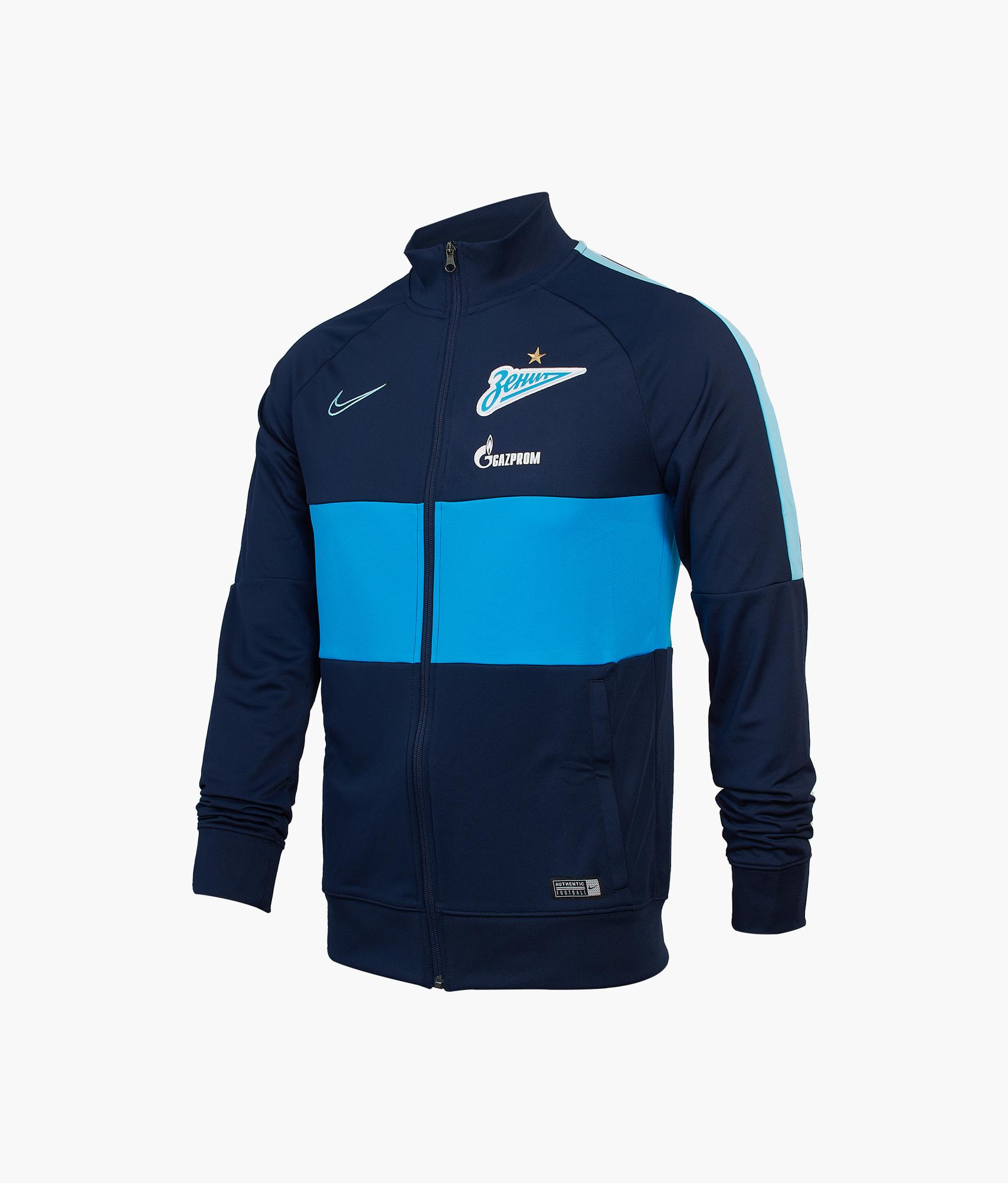 Куртка от костюма Nike Zenit сезона 2019/20 Nike Цвет-Темно-Синий куртка утепленная подростковая nike цвет синий