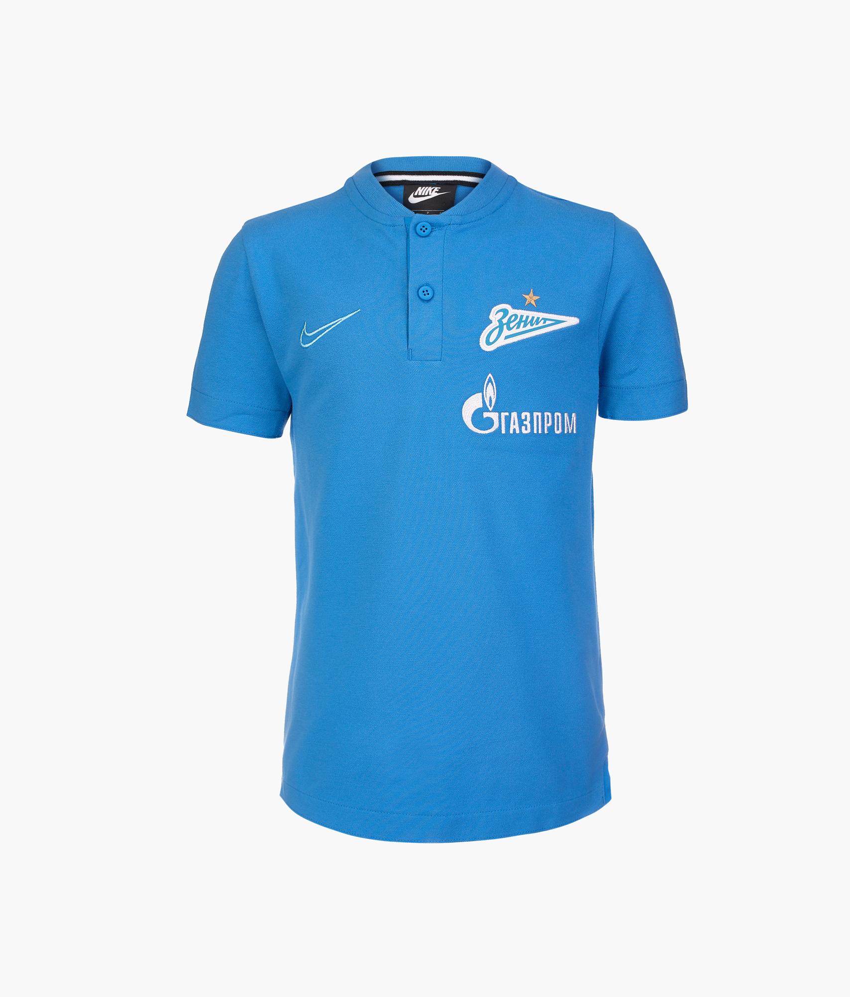 Поло подростковое Nike Nike Цвет-Синий цены онлайн