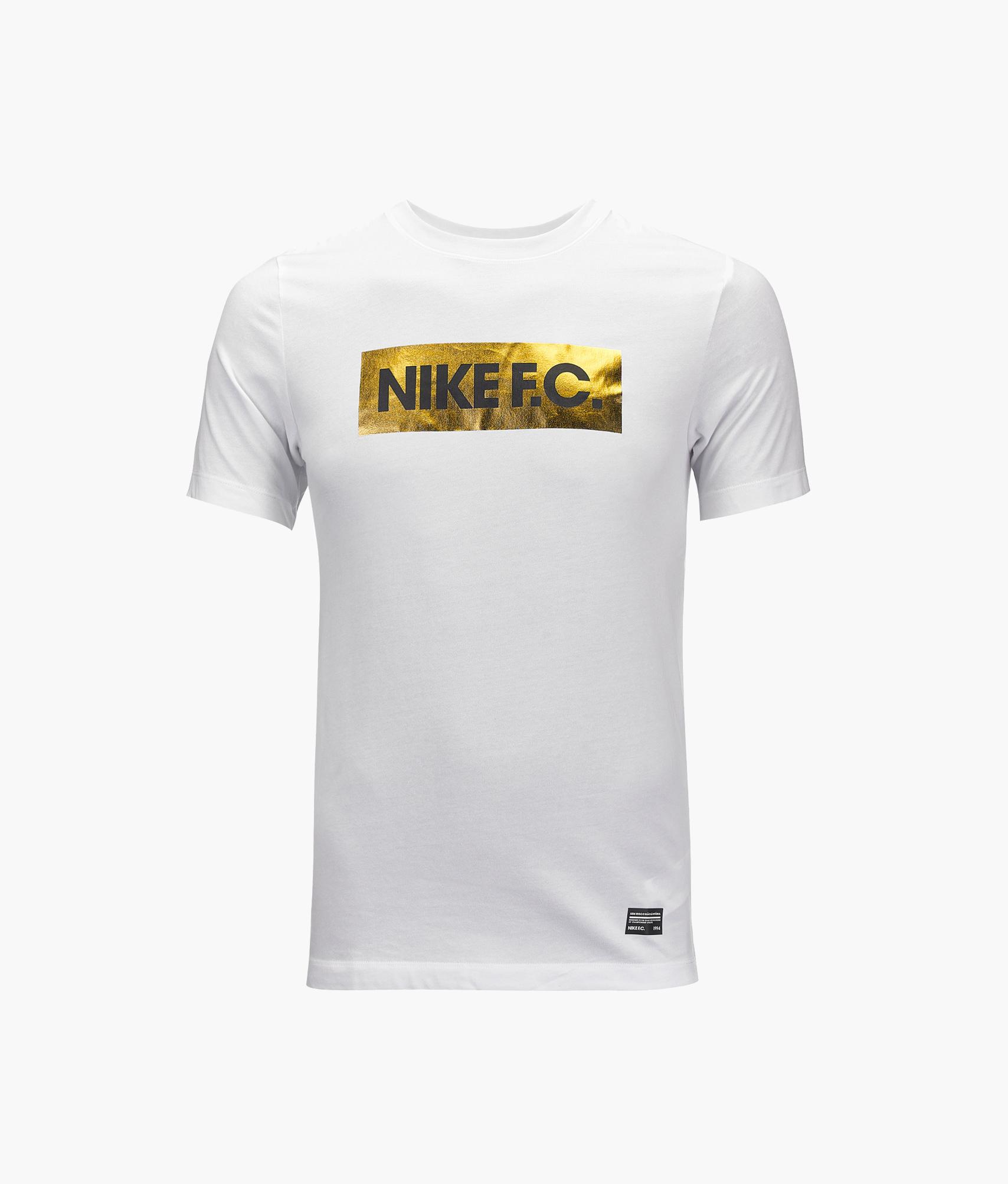 Футболка Nike «Чемпион-2018/19» Nike Цвет-Белый реплика выездной игровой футболки nike 2018 19 nike цвет белый