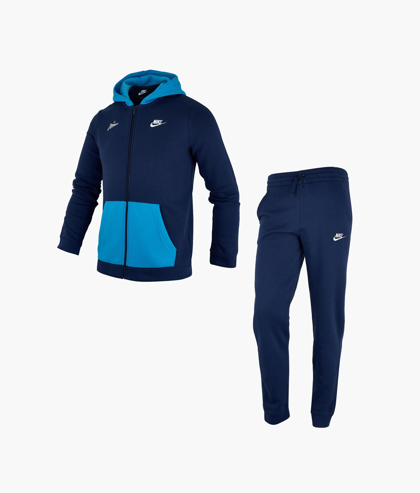 Костюм спортивный подростковый Nike Nike Цвет-темно-синий топ спортивный nike nike ni464ewhtts4