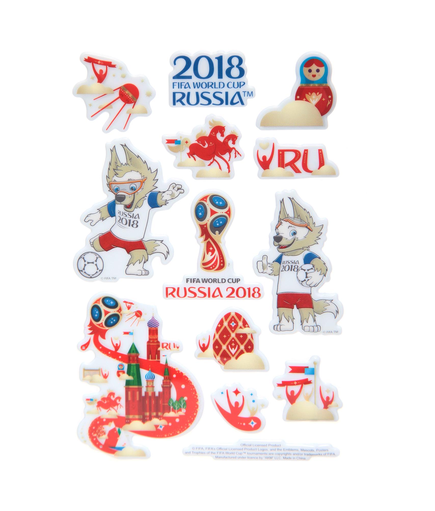Фото Набор наклеек «Чемпионат мира 2018» Зенит