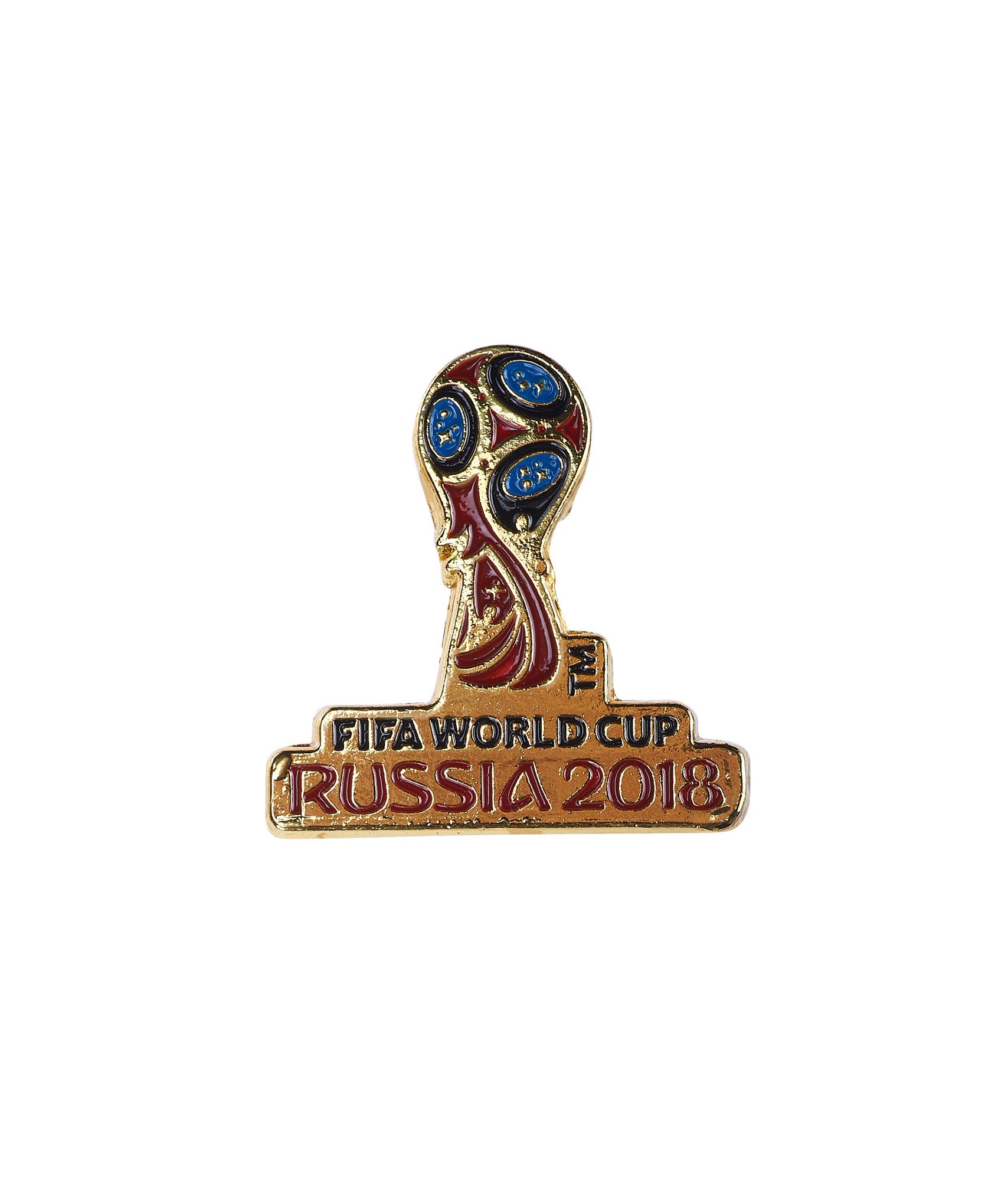 Значок металлический 'Эмблема, ЧМ 2018, 3 см, эмаль Зенит значок закатной эмблема чемпионата мира 2018 зенит
