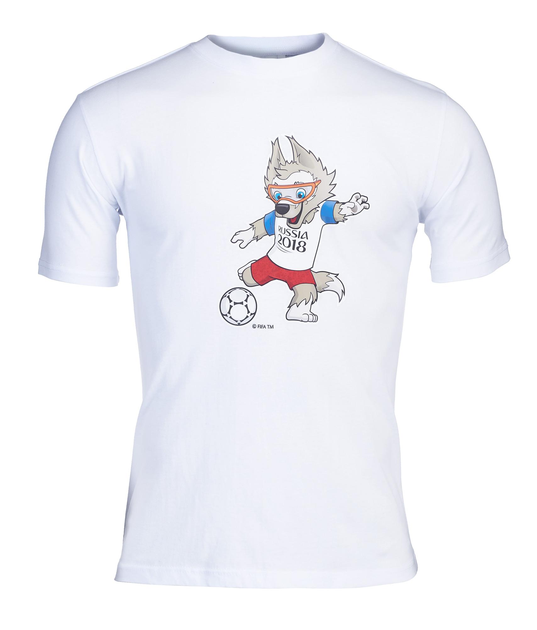 Футболка мужская «Забивака» Зенит Цвет-Белый значок закатной забивака зенит цвет красный