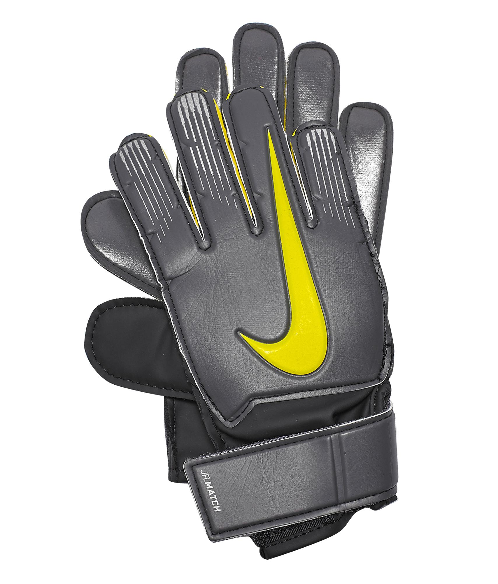 Перчатки вратарские детские NIKE MATCH Nike Цвет-Черный nike перчатки для фитнеса женские nike accessories