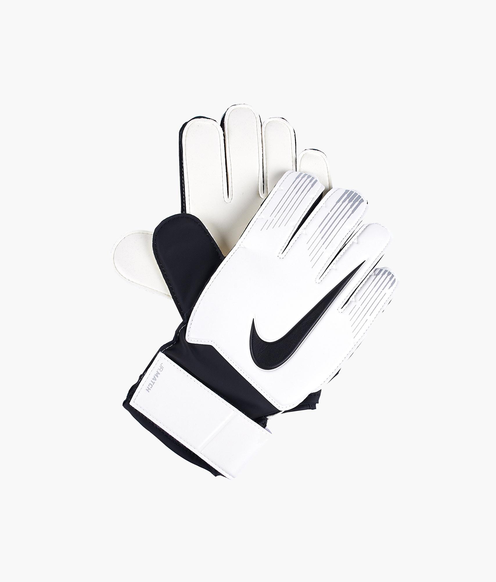 Перчатки вратарские детские NIKE GK JR MATCH Nike Цвет-Белый