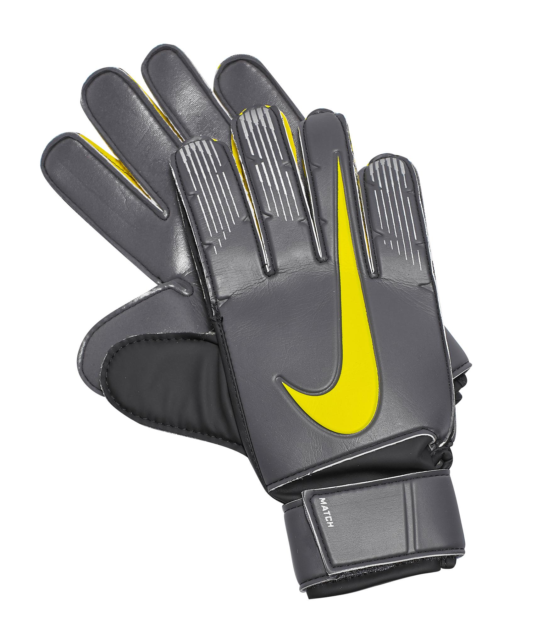 Перчатки вратарские NIKE GK MATCH Nike Цвет-Черный nike перчатки для фитнеса женские nike accessories