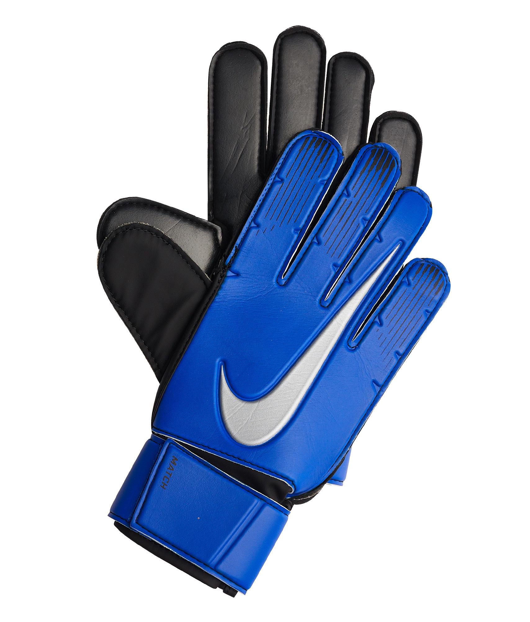 Перчатки вратарские Nike Nike Цвет-Синий nike перчатки для фитнеса женские nike accessories