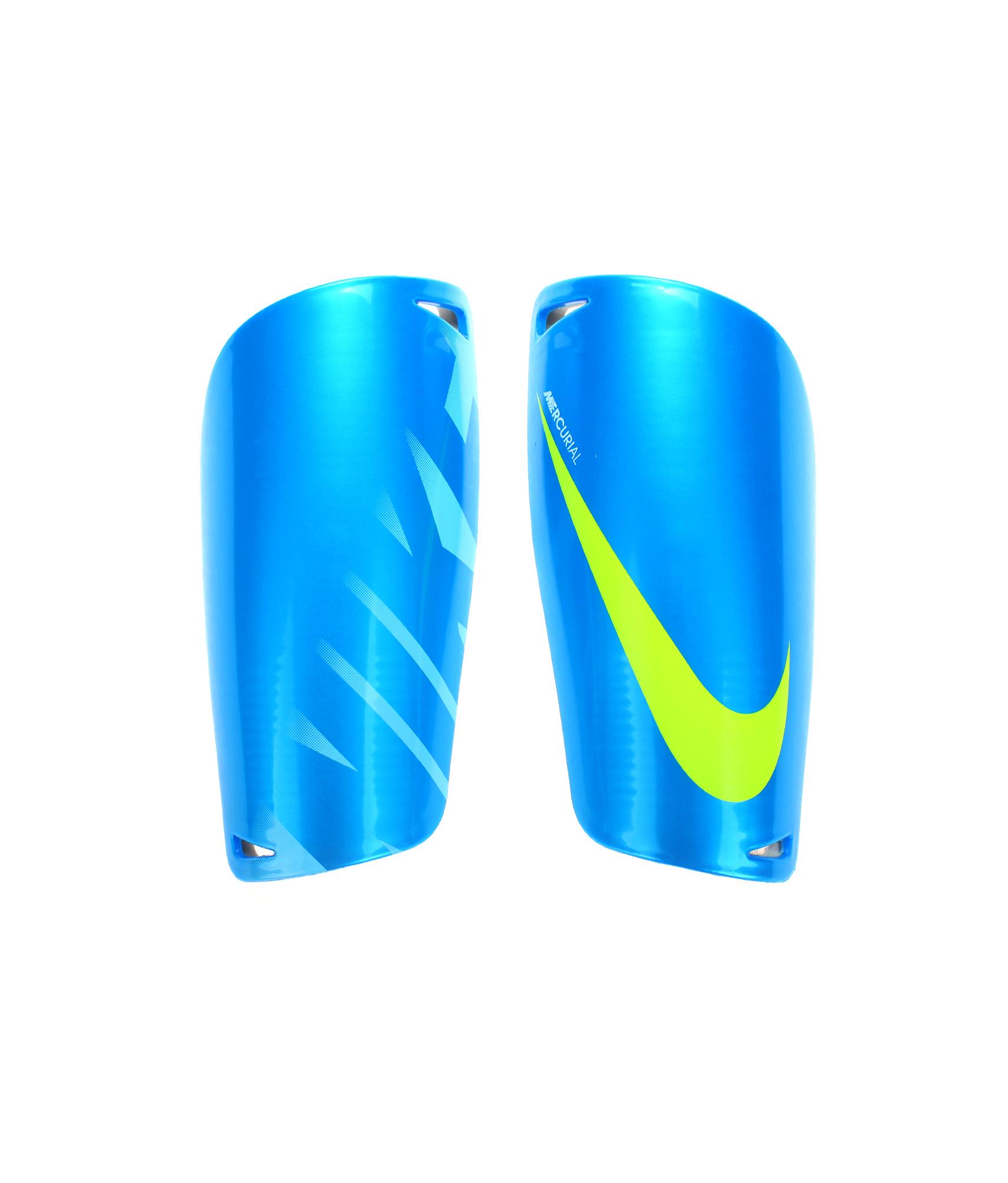 Щитки Nike MERCURIAL LITE, Цвет-Голубой, Размер-L